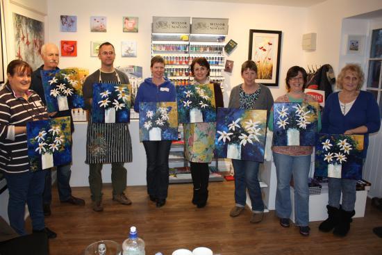 Karen Wilson Art Workshop