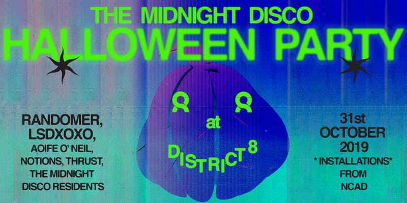 Halloween District 8 midnight disco