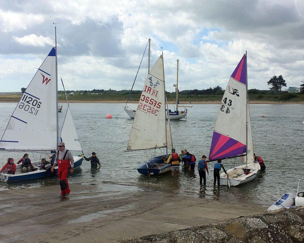 Sailing in Rush