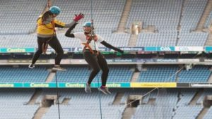 Abseil Croke Park International Women's Day